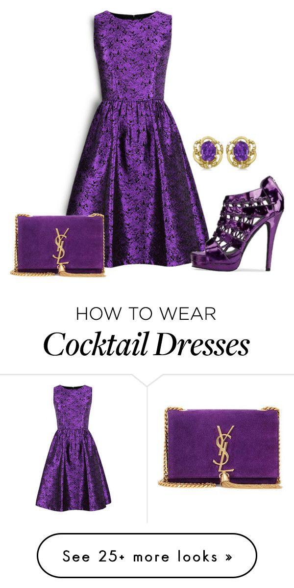 25+ best ideas about Purple cocktail dress on Pinterest | Purple clothing Classy cocktail dress ...