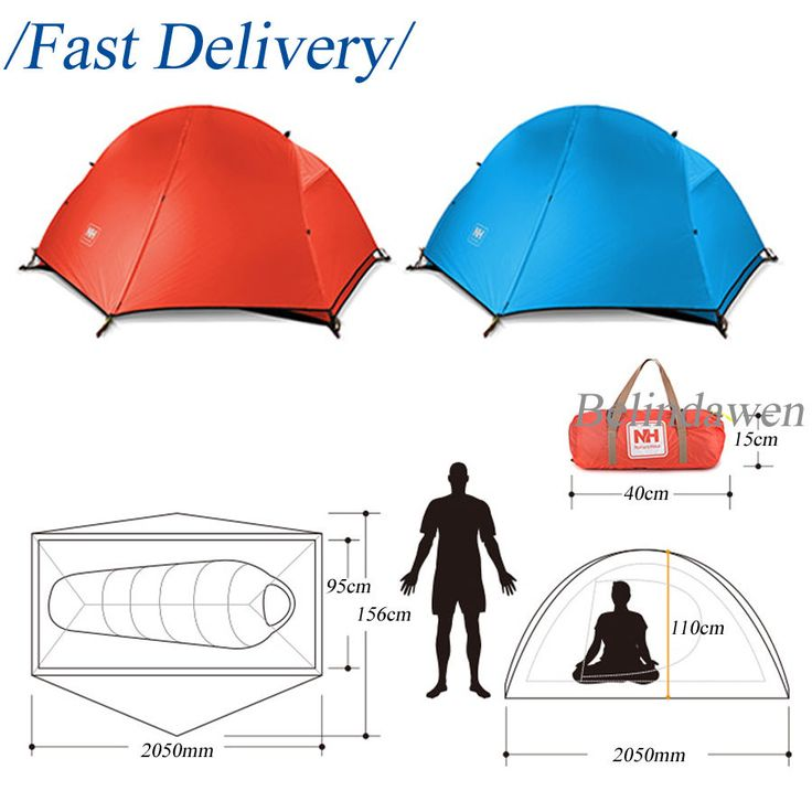 HOT 1 Person Berth Ultralight Outdoor Tent Waterproof Camping Hiking with Tools
