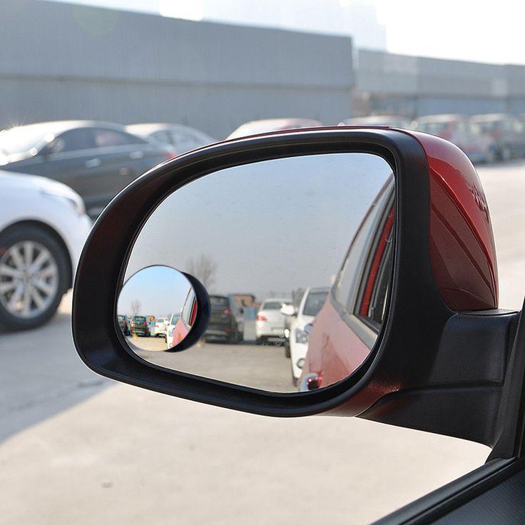 קמור רכב מבט אחורי מראה עגול זווית רחבה כתם עיוור מראה קמורה 360 מעלות סיבוב רחב זווית אבזר חיצוני אוטומטי