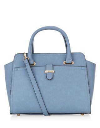 Mini Melissa Handheld Bag | Blue | Accessorize