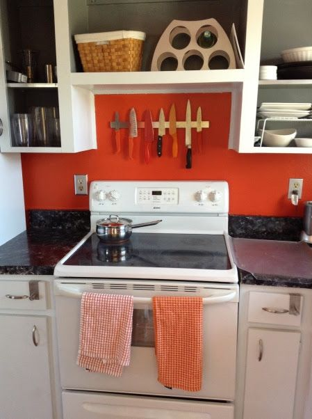 Colorful low cost single wide room ideas mmhl single for Mobile home kitchen makeover ideas