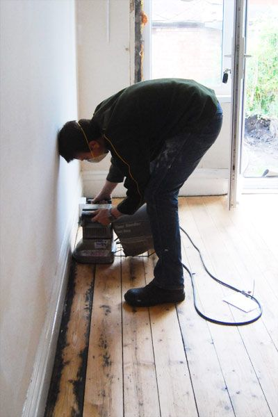 Complete DIY guide to sanding wooden floorboards yourself. Including practical time saving tips and cost breakdown.