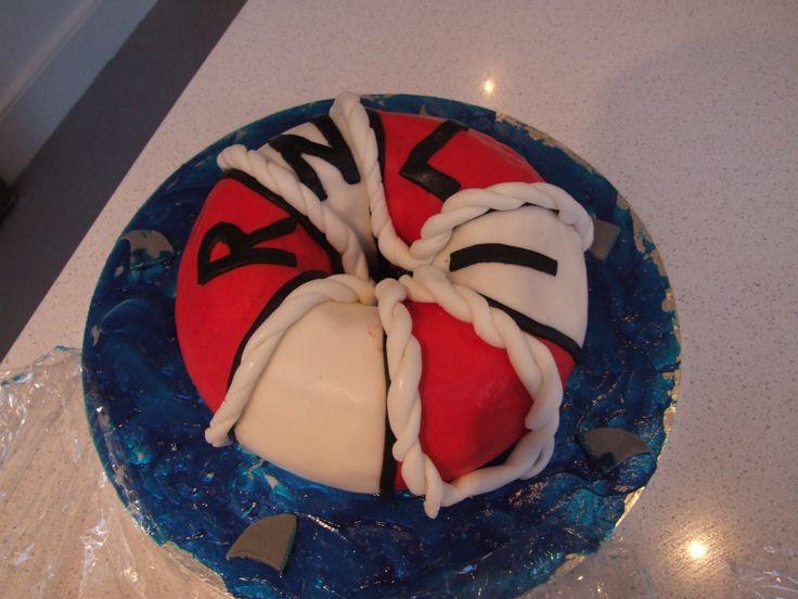 RNLI Life saver ring cake