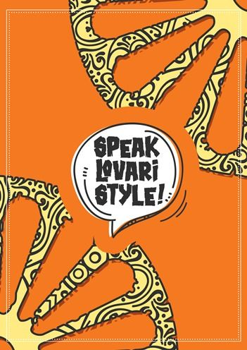 Fulbright English Teaching Assistant Robin Cathey '16 and six of her Roma students at the Wlislocki Henrik Residential College created and published a booklet called Speak Lovari Style!.