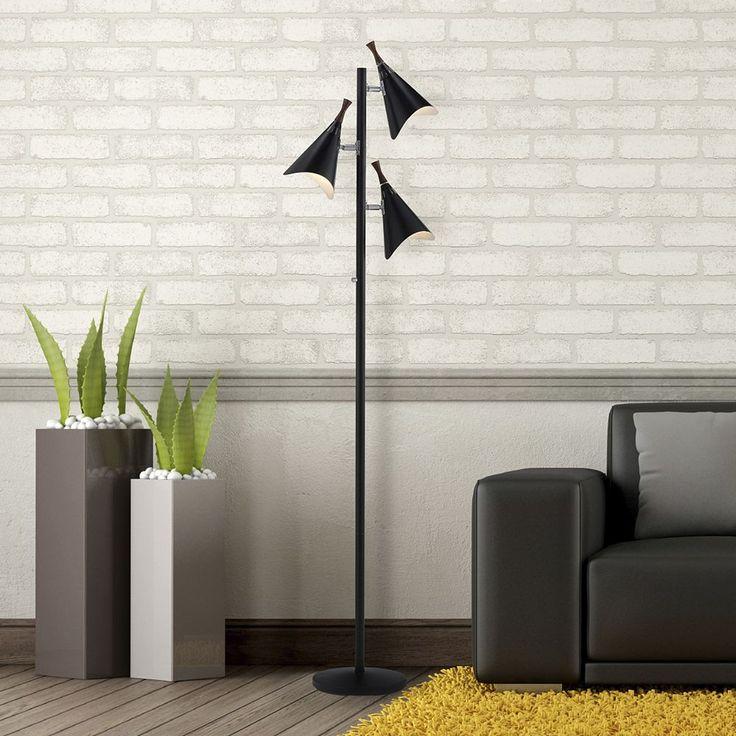 Adesso Draper Tree Floor Lamp, Multicolor