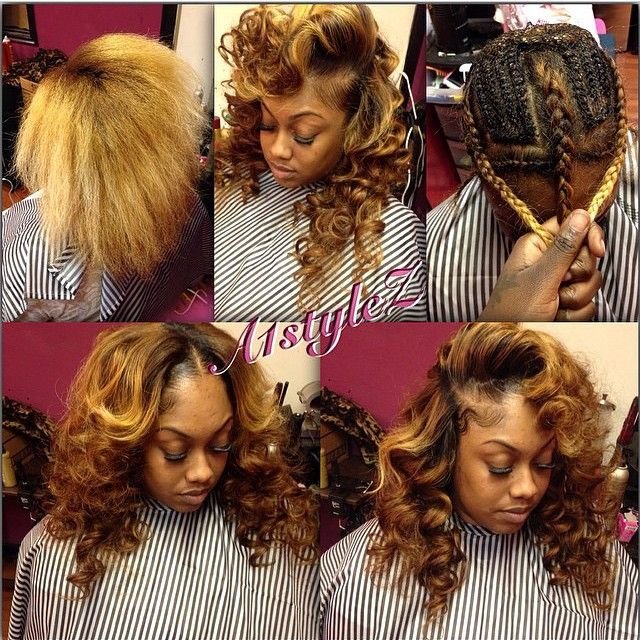 STYLIST FEATURE| Love this 3-part sew in #transformation