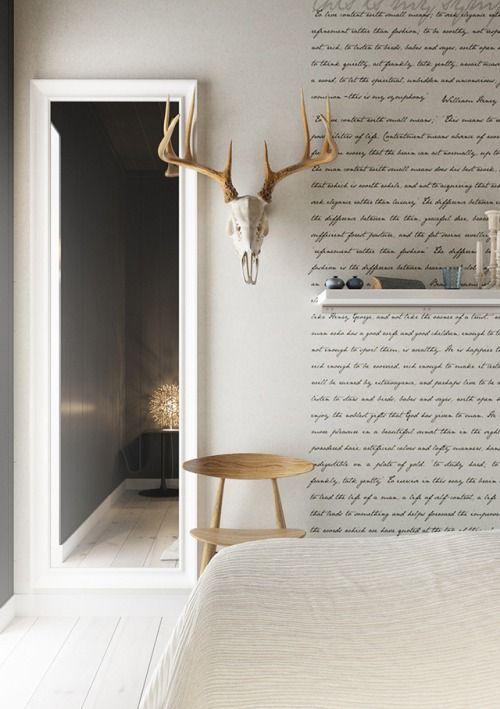 Les 25 meilleures id es concernant cr nes de cerfs sur pinterest d cor du d - Decoration ecriture murale ...