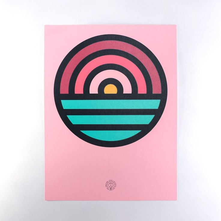 """Get down with the thickness. Aaron Draplin's button set is now available as a limited edition poster set. These 18""""x24"""" posters are printed on 100lb. <a href=""""http://www.frenchpaper.com/"""">French Paper</a> Pop-Tone and, naturally, silkscreened by <a href=""""http://mamas-sauce.com/"""">Mama's Sauce</a>. There's not many, so snag yours before they drift away beyond the horizon."""