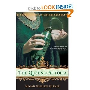 The Queen Of Attolia by Megan Whalen Turner. Book 2 in the series