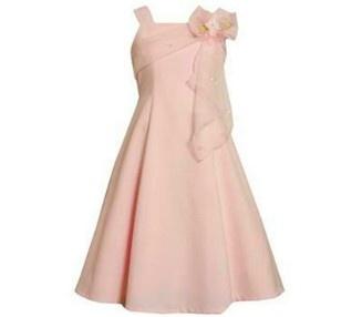 Ref. 7025 Vestido de gala rosado Tamaños 7, 8, 10, 12, 14, 16 años RD$2,200