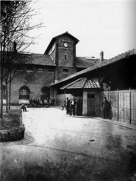 Paris, Prison de la Santé - non daté - Crédit photo: © Charles Marville  & Metropolitan Museum of Art