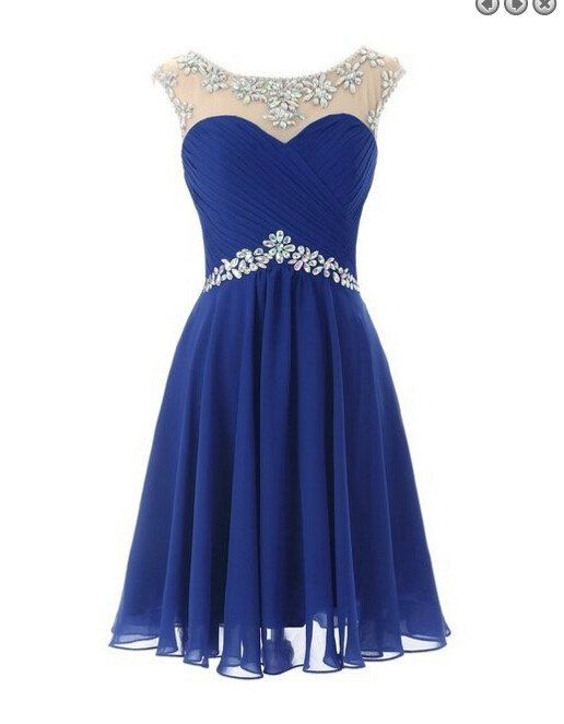 Royal Blue Simple Homecoming Dress,Sexy Party Dress,Charming Homecoming…