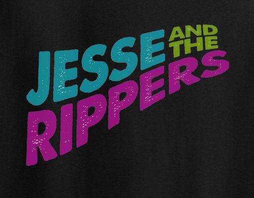 Full House Fuller House Jesse and the Ripper Logo Tee T-shirt
