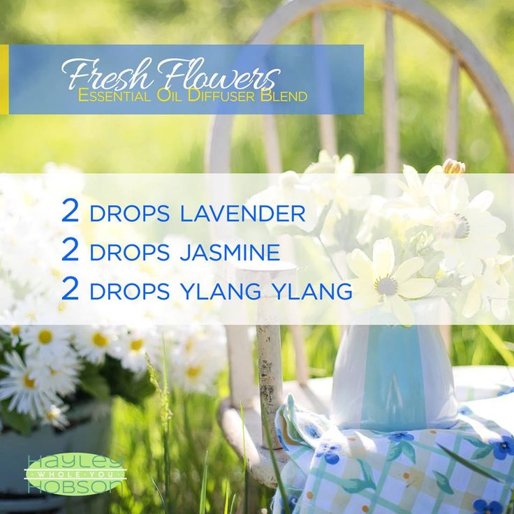There's nothing better than the fragrance of fresh flowers! Well, this essential oils diffuser blend allows you to enjoy that aroma whenever you want! Which is especially beneficial if you live somewhere the flowers aren't out yet. Aside from the great ar
