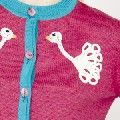 swan detail on cardy