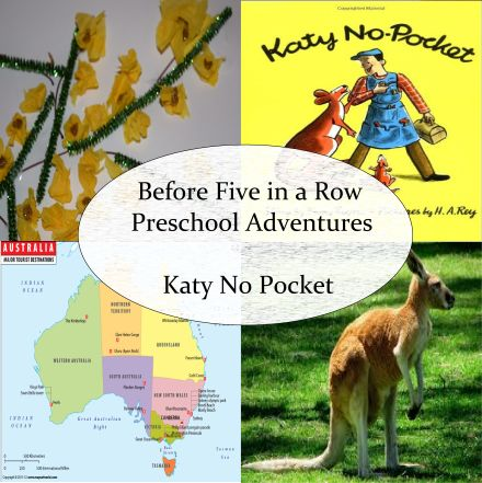 Check out our Australian adventures using the book Katy No Pocket (Before Five in a Row)