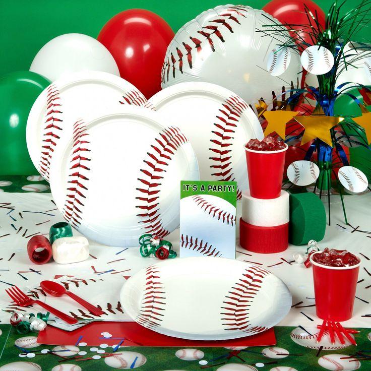 Best 25+ Baseball Party Supplies Ideas On Pinterest