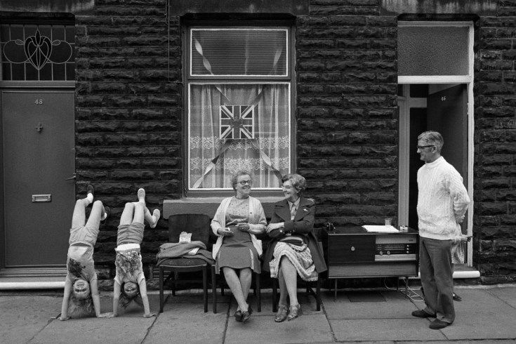 The Non-Conformists: Martin Parr's Early Work in Black-and-White - LightBox.  Street parties.