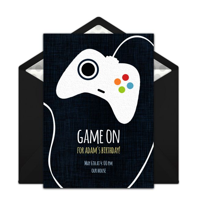 Free Game Controller Invitations In 2019