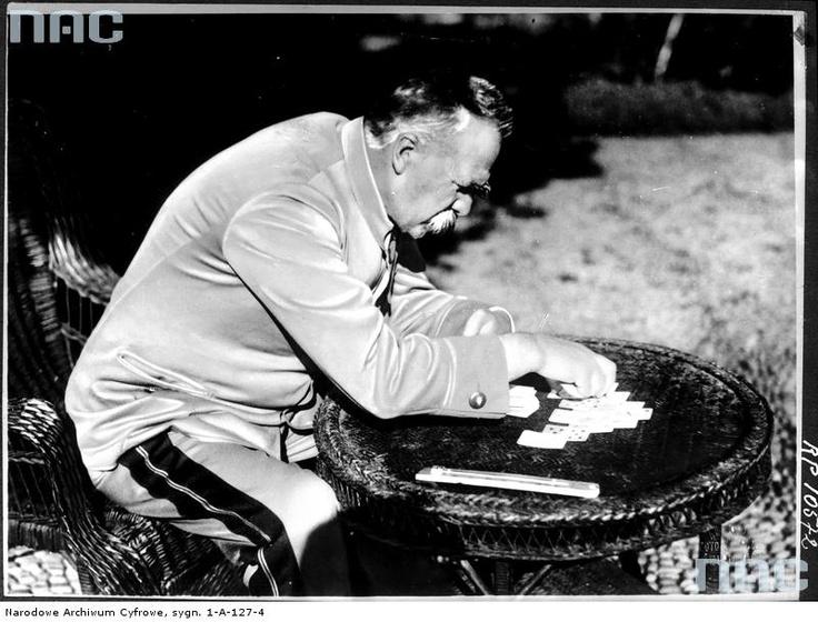 Józef Piłsudski, Madera, 1931.