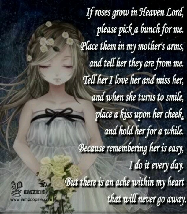 72 Best Miss You Mom Images On Pinterest