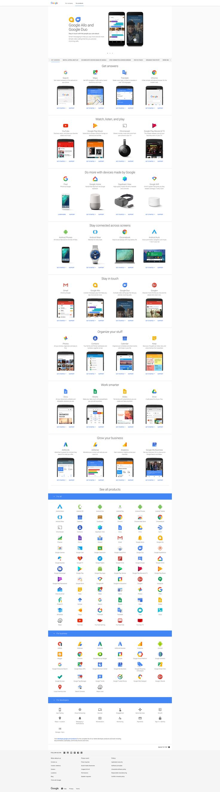 The moment when you realise how big actually #Google is. Do you know more than 5% of their products? Let me know, pls.  #Marketing #GoogleSearch #WebTraffic #Optimization #Content #SEO #GoogleProducts #Startups #DevTools #WebProducts #Alphabet #Business #LocalBusiness #OpsTools #Growth #CRM #Sales #BizDev #CyberSecurity #Security #Productivity #Entrepreneurship #Finance #Analysis #DataTools #DataManagement #Privacy #PrivacyManagement #ProductDevelopment #Platform #API #SDK