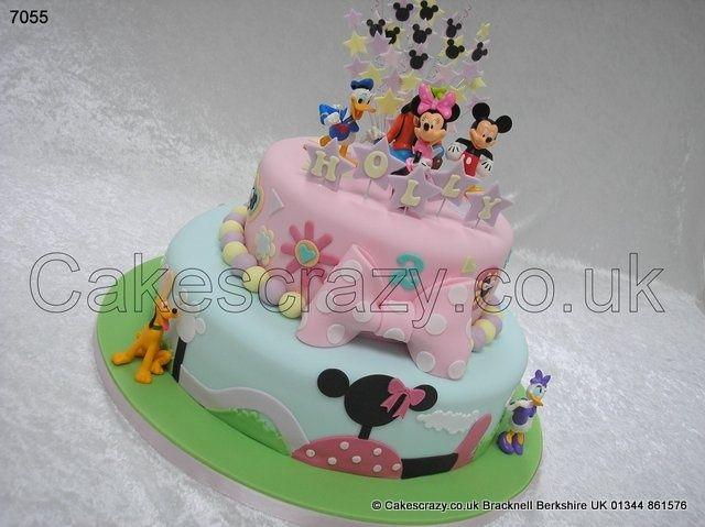 Disneyland Birthday Cake Image Figurine