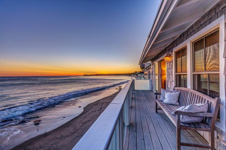 Y podría ganar el oscar a mejor vista sobre el mar esta #casa a #Malibu?  #USA #mar #playa #beach #sand #arena #amazingview #beautifulhome #sea #olordemar #home #luxuryvilla #lujo #design #billionaire #oscar2017