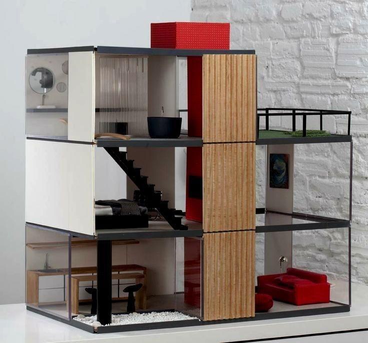 Modern Dollhouses-A Second Look