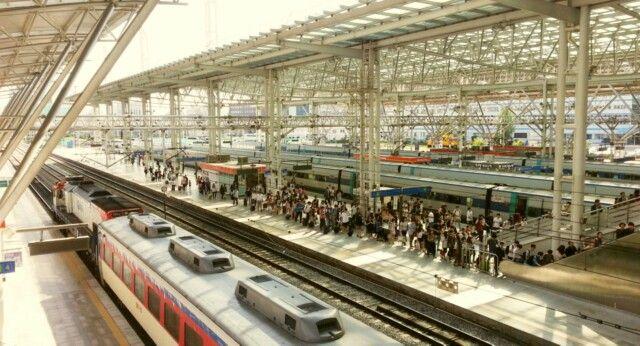 Daejeon Station, Daejeon, South Korea.