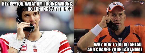 Funny NY Giants Loss   Eli threw a couple of picks to start out the game against the Chicago ...