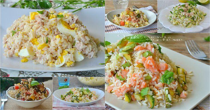 Insalate di riso ricette facili e veloci, ricette fresche estive, veloci da realizzare, tante idee gustose per portare in tavola l'insalata di riso