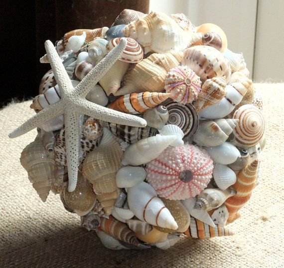 Beach Wedding Seashell Bouquet Nautical Shell By Jolly Fine Jewellery On Folksy