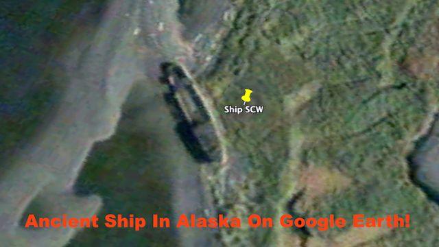 OVNIS ONTEM: Eu encontrei um navio de 41 metros no Alaska