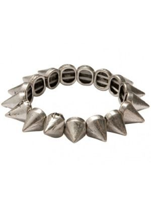 Armband Rock Spikes Silver