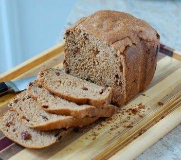 Pão Integral de Passas | Máquina de Pão