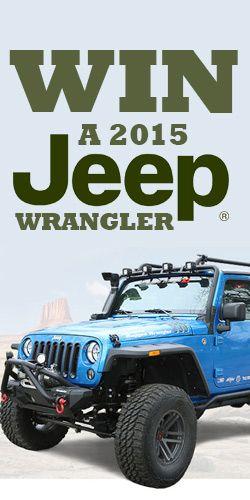 Win A 2015 Jeep Wrangler