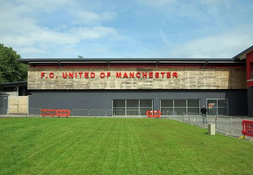 Soccerphile Blog: FC United of Manchester v Brackley Town