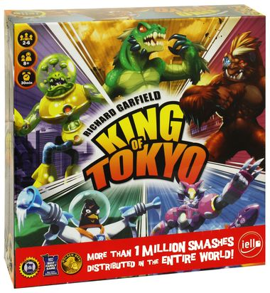 King of Tokyo Game 2nd Edition product photo