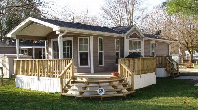 Mobile Home Deck Pictures Mobile Home Deck Mobile Home Exteriors House Deck