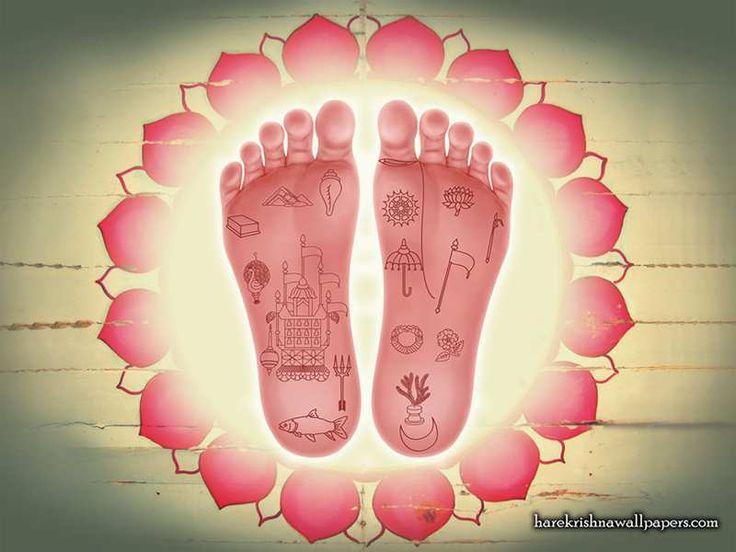 http://harekrishnawallpapers.com/srimati-radharani-lotus-feet-artist-wallpaper-001/