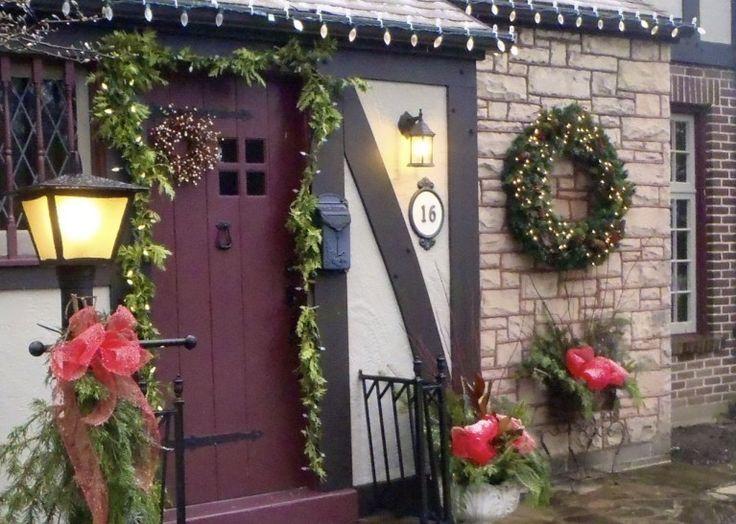 1000 idee su decorazioni da esterno su pinterest giardino incantato casette da giardino - Decorazioni natalizie per giardino ...