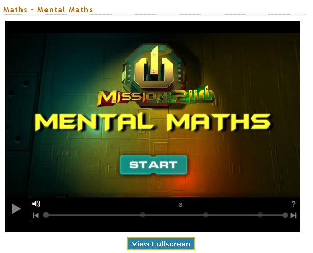 Students must use all of their mental math skills to escape with the Bio-rods in this Mission 2110 game.
