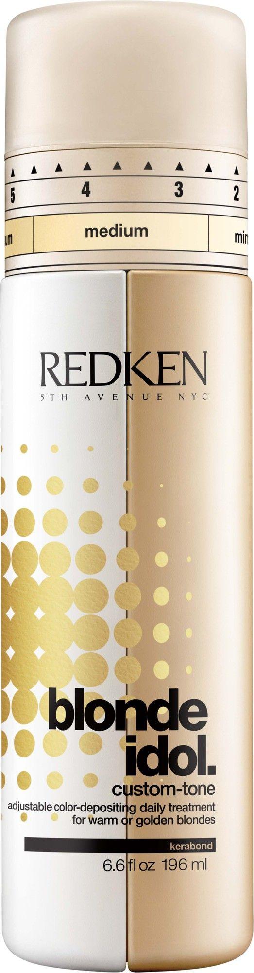 Redken Blonde Idol Treatment Gold 196ml  Description: Blonde Idol Treatment Gold  Price: 21.80  Meer informatie  #kapper #haircutter #hair #kapperskorting