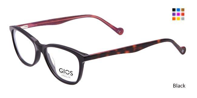 56d3dd8509a Black Gios Italia RF500066 Eyeglasses Eyeglasses