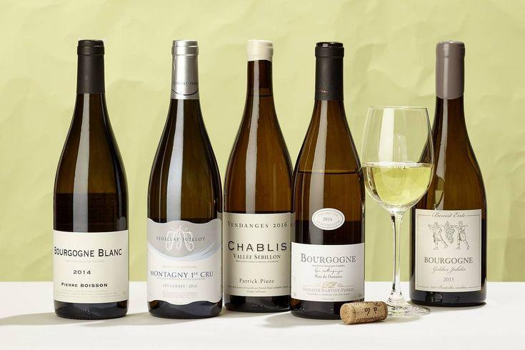 Left to Right: 2014 Domaine Boisson-Vadot Pierre Boisson Bourgogne Blanc, 2014 Domaine Feuillat-Juillot Montagny Les...