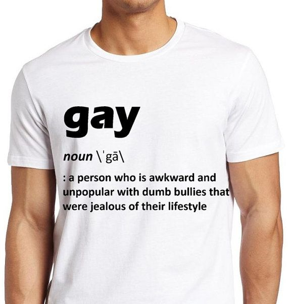 GAY SHIRT Our Definition of Gay Lgbt Shirt  by ALLGayTees on Etsy