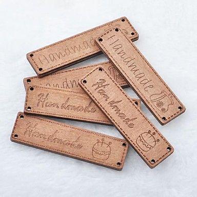 прямоугольник ручной альбом scraft швейные DIY Деревянные кнопки (5 шт) – RUB p. 137,99