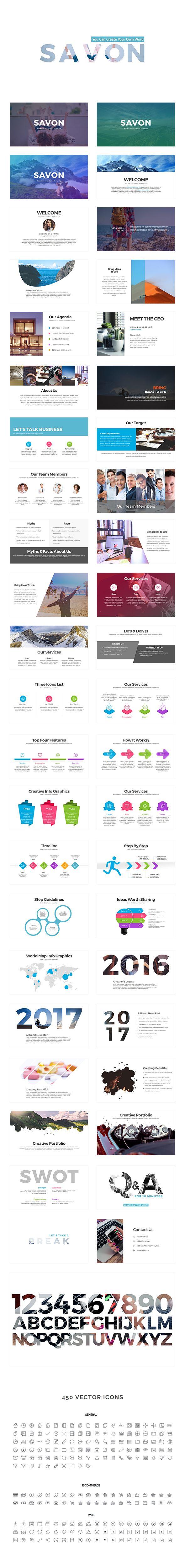 Savon PowerPoint Presentation Template — Powerpoint PPT #powerpoint presentations #best powerpoint • Download ➝ https://graphicriver.net/item/savon-powerpoint-template/18966639?ref=pxcr