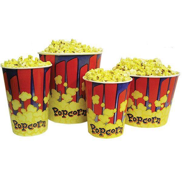 Popcorn Tubs - 46 oz. - Case of 100 at SCHOOLSin